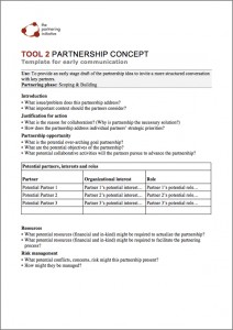 Partnership-Concept