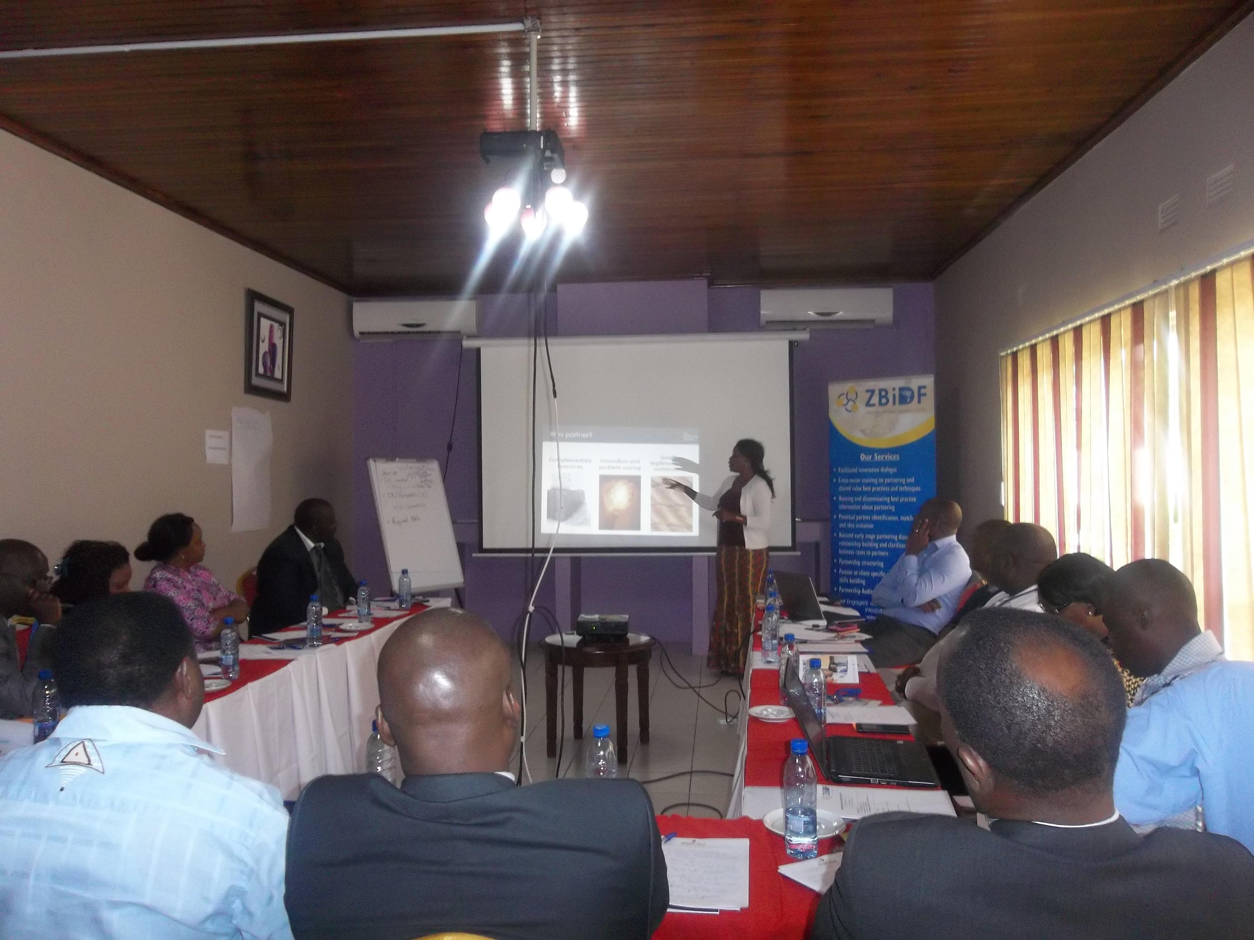 Cassava to Starch Partnership – Zambia Business in